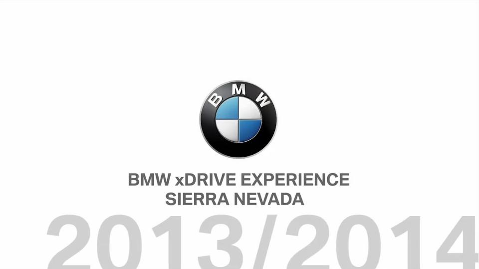 BMW – Snow Driving Sierra Nevada