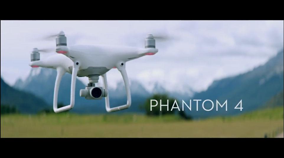 DJI – Introducing the Phantom 4