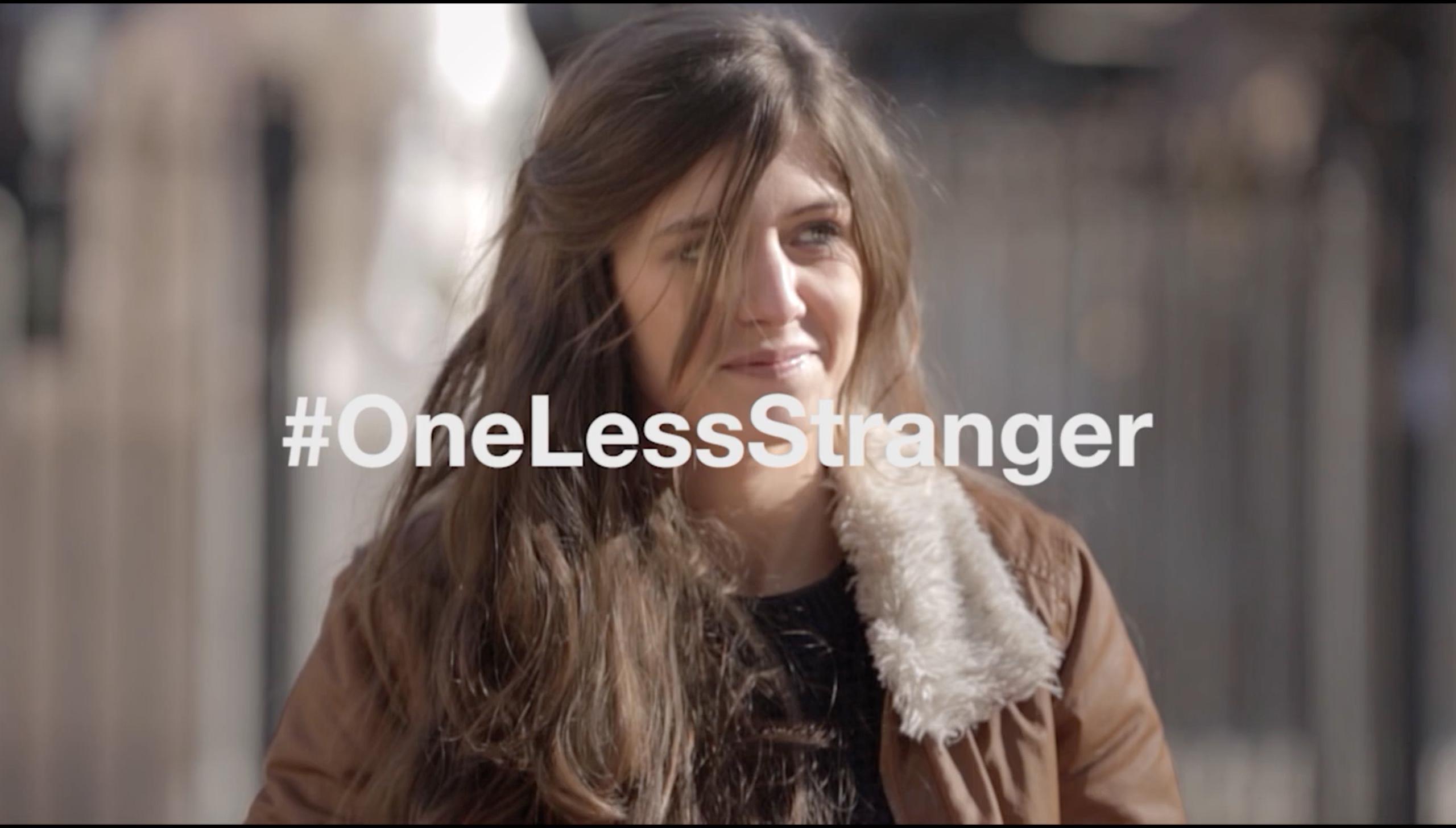 AIRBNB – #OneLessStranger