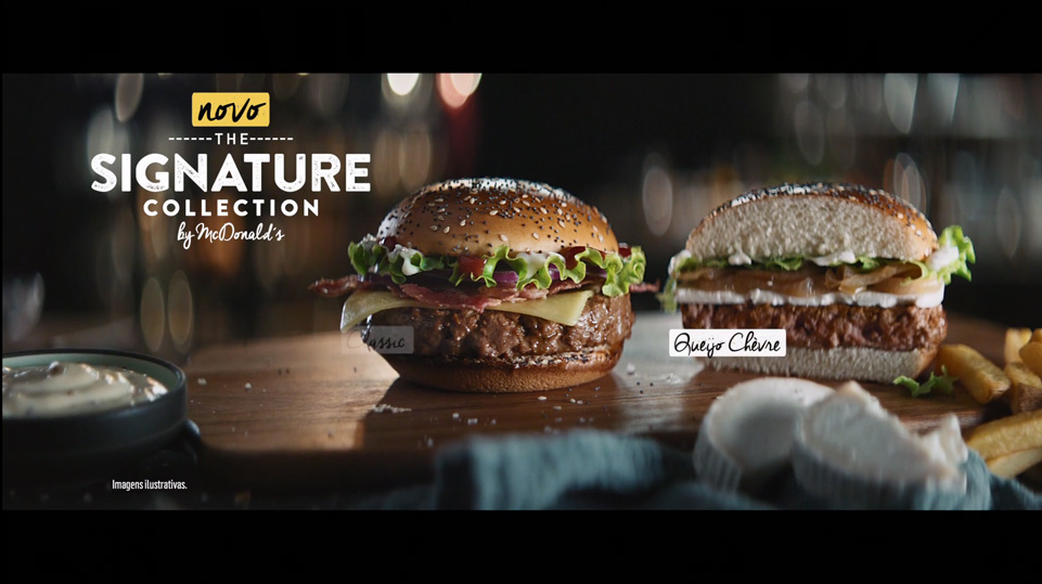 McDonal's – Signature Collection